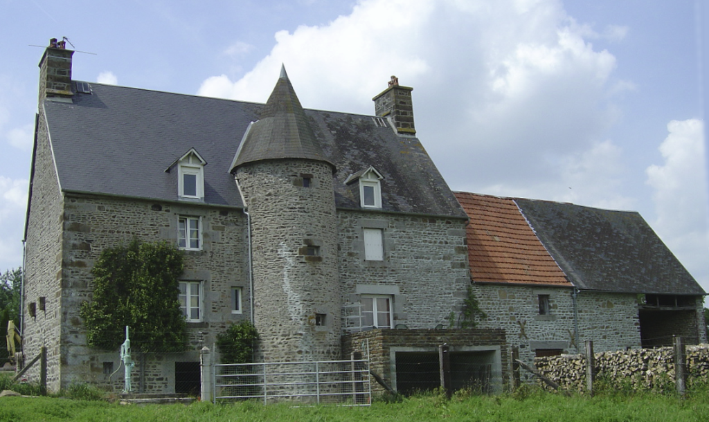 Old Manor House with Tower at La Madeleine